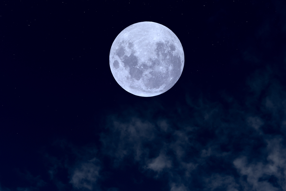 A rare 'blue moon' will light up skies this Halloween