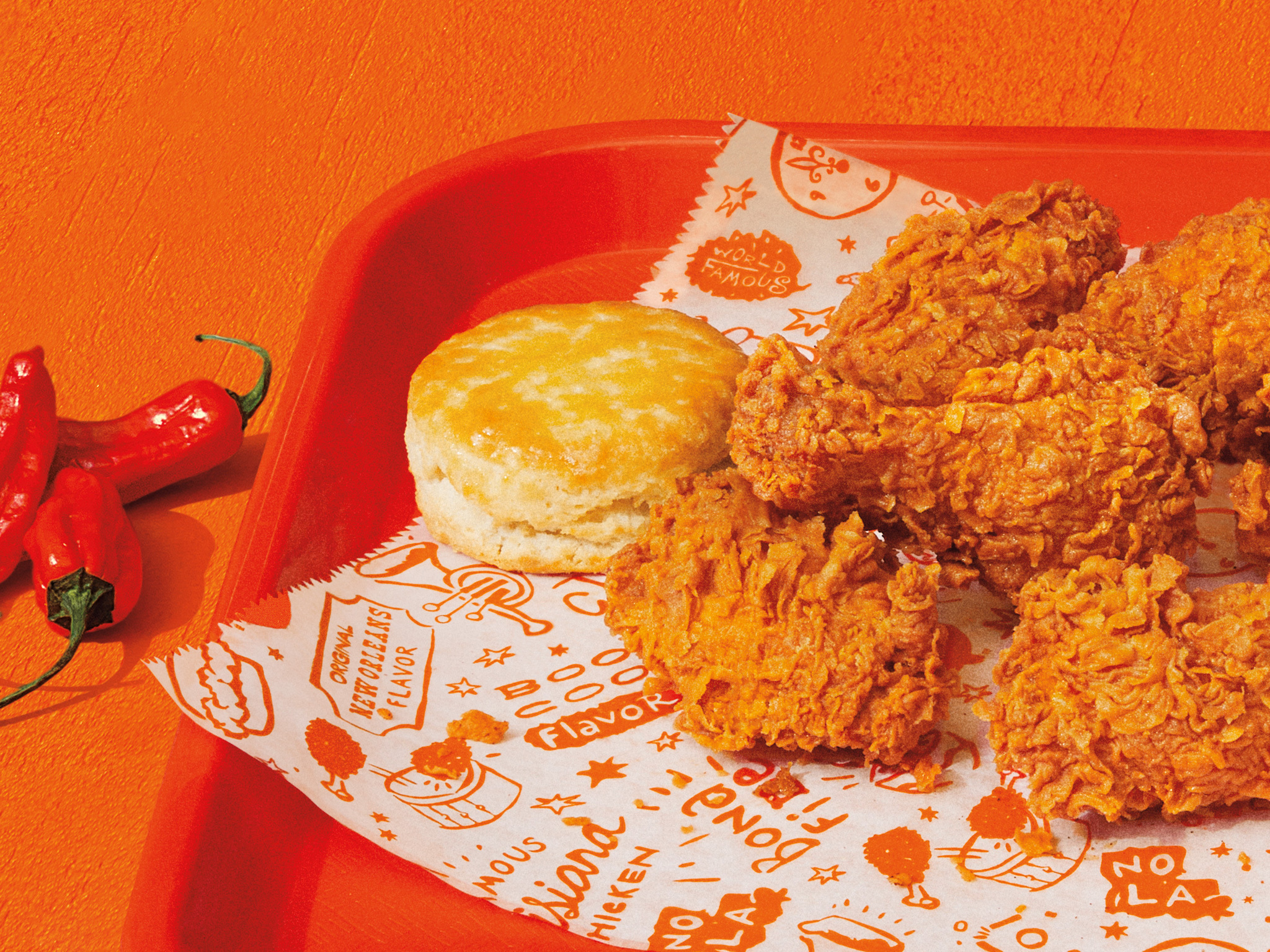 We tried Popeyes' Ghost Pepper Wings to see how spicy they actually taste
