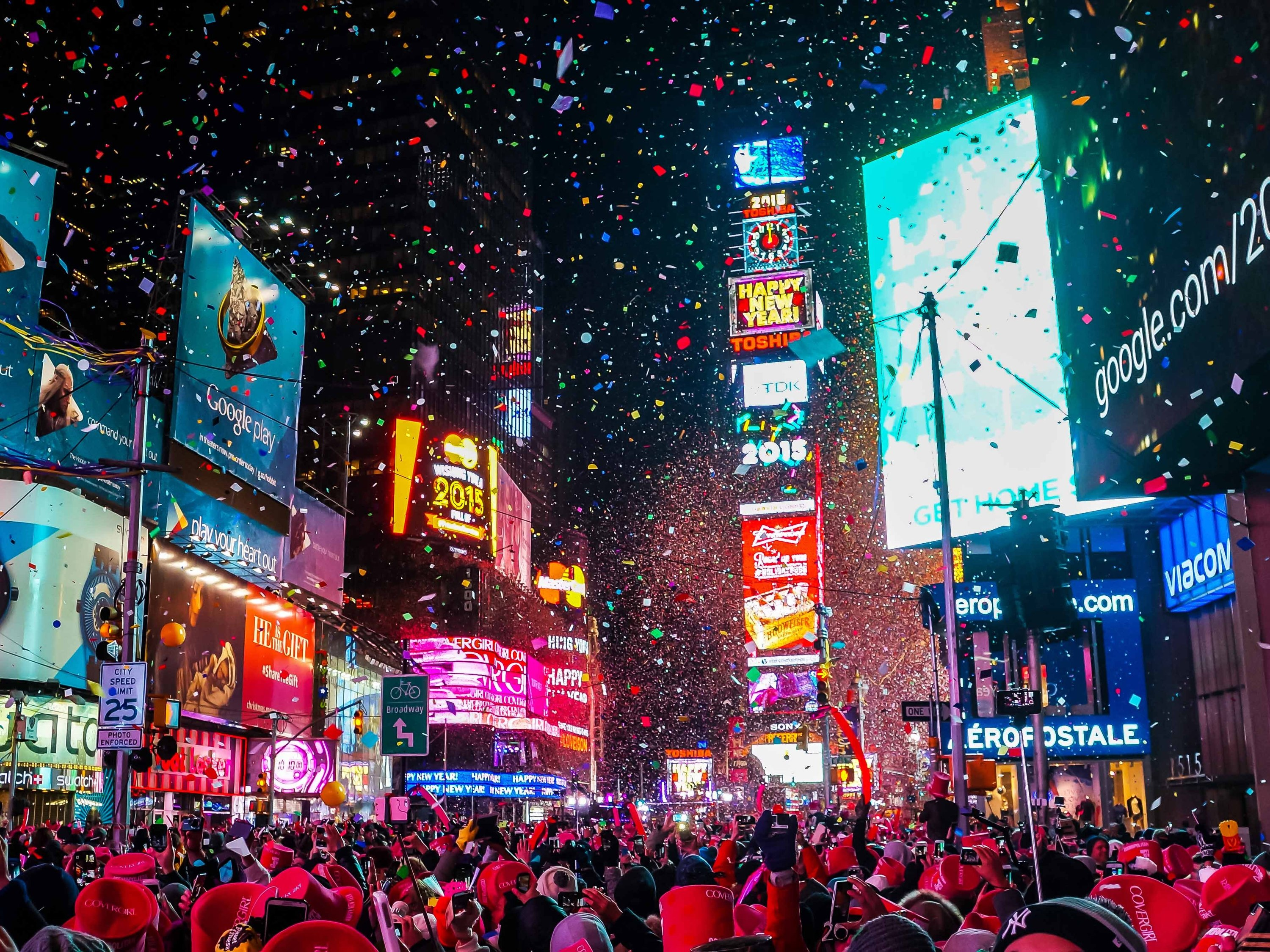Here's how the Times Square New Year's Eve celebration will be different this year