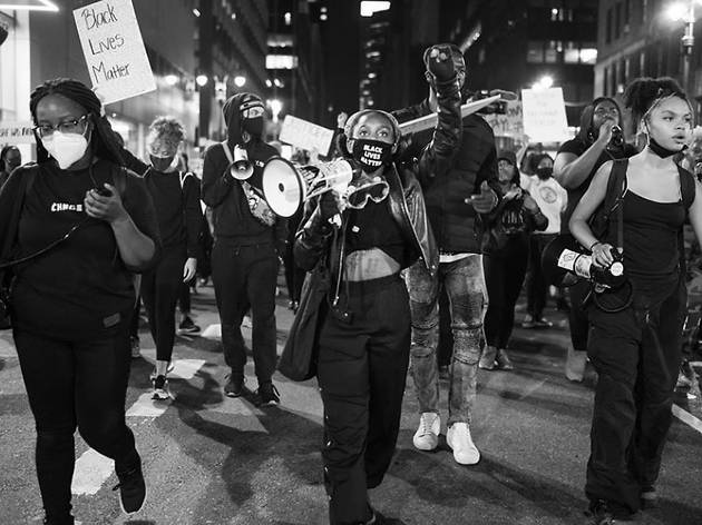See thousands march across NYC to protest Breonna Taylor decision