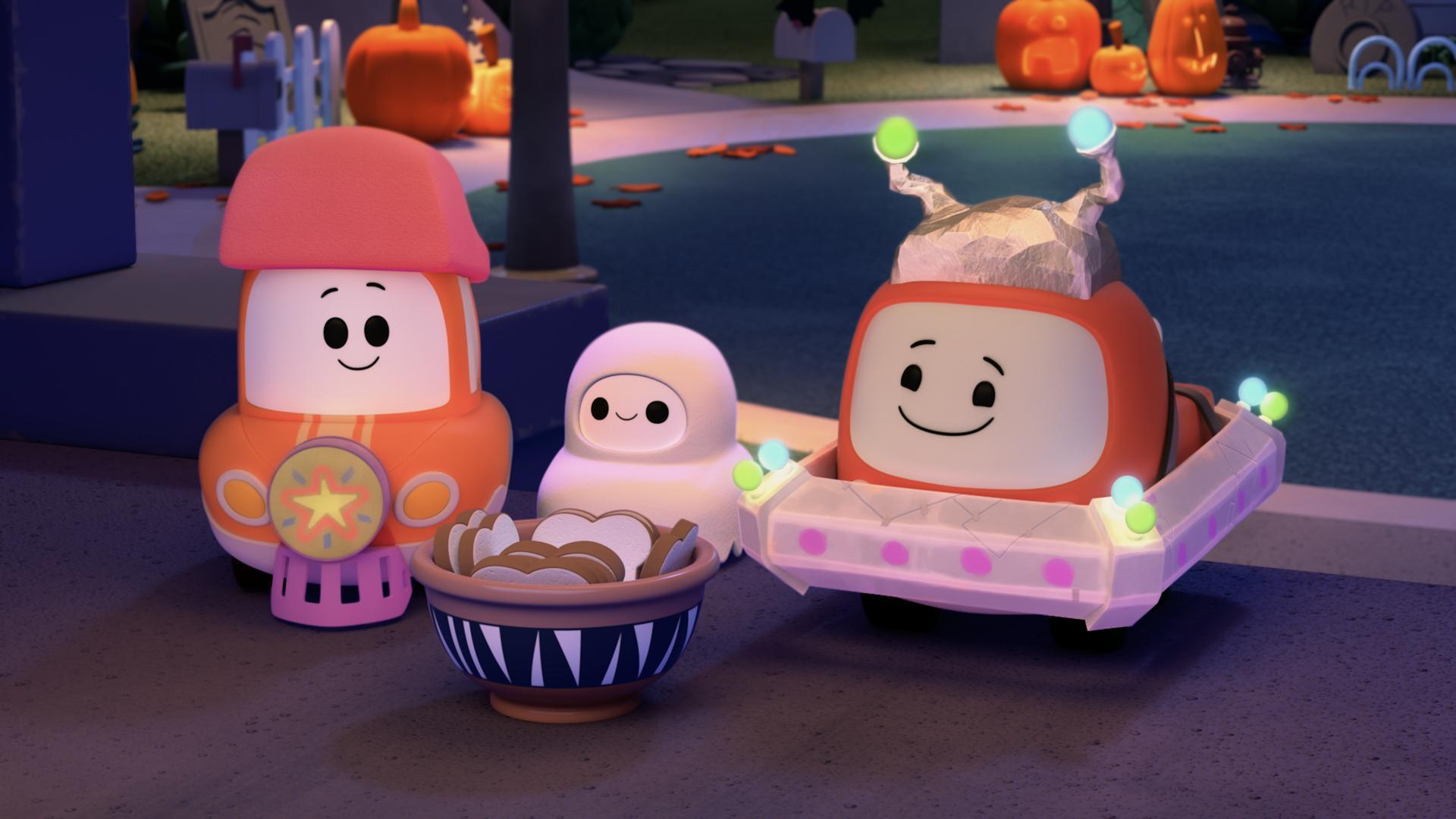 Tut Tut Cory Bólidos: Halloween