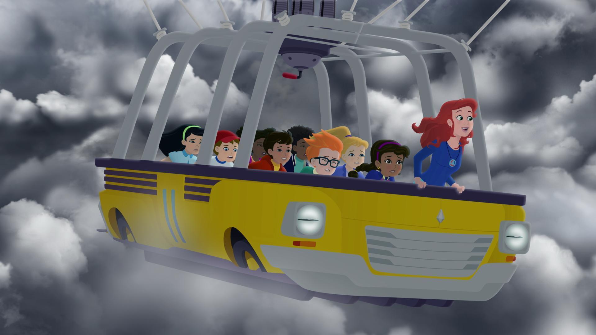 El autobús mágico vuelve a despegar: La conexión Frizz