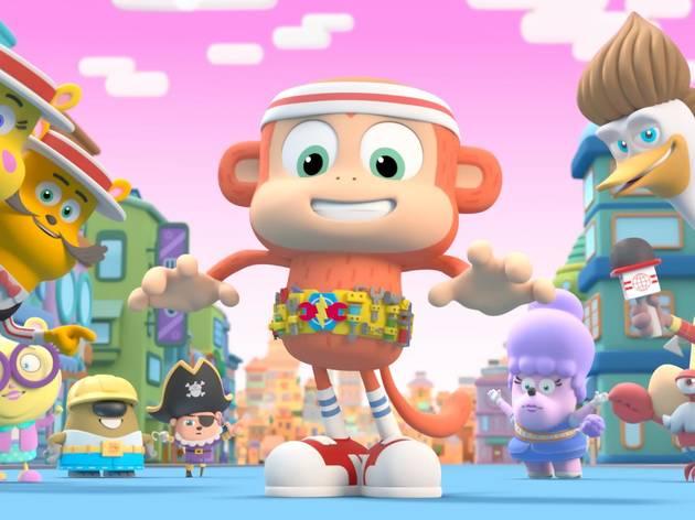 Chico Bon Bon: Un mono con herramientas: Temporada 4
