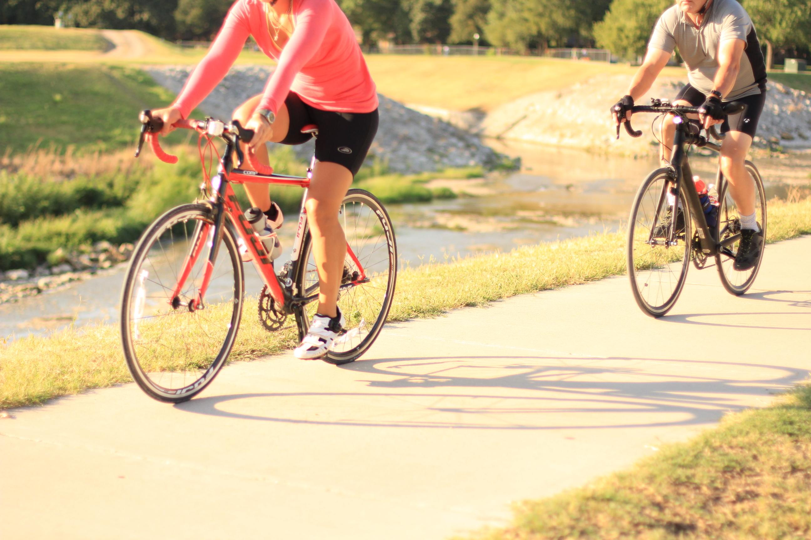 Forth Worth Texas biking