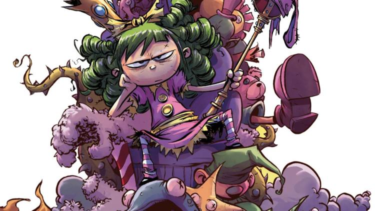 Ilustración de la portada de I Hate Fairlyland