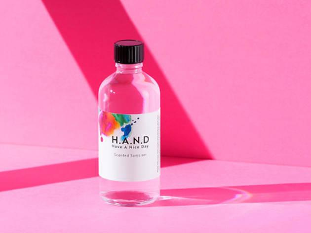 H.A.N.D. sanitiser