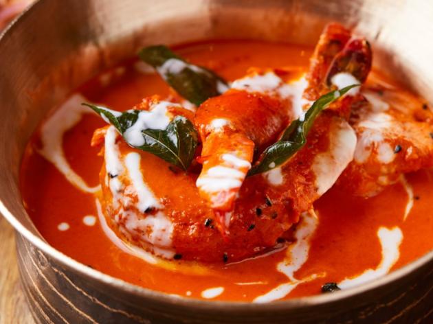 Chaat Bengali prawn curry
