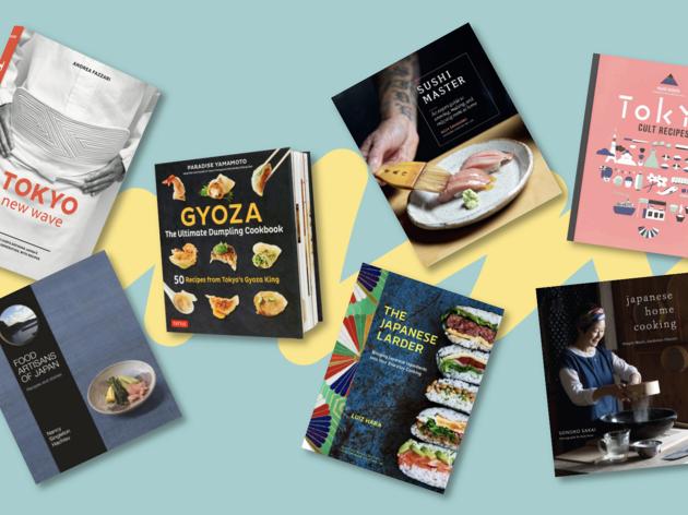 Japanese cookbooks top image