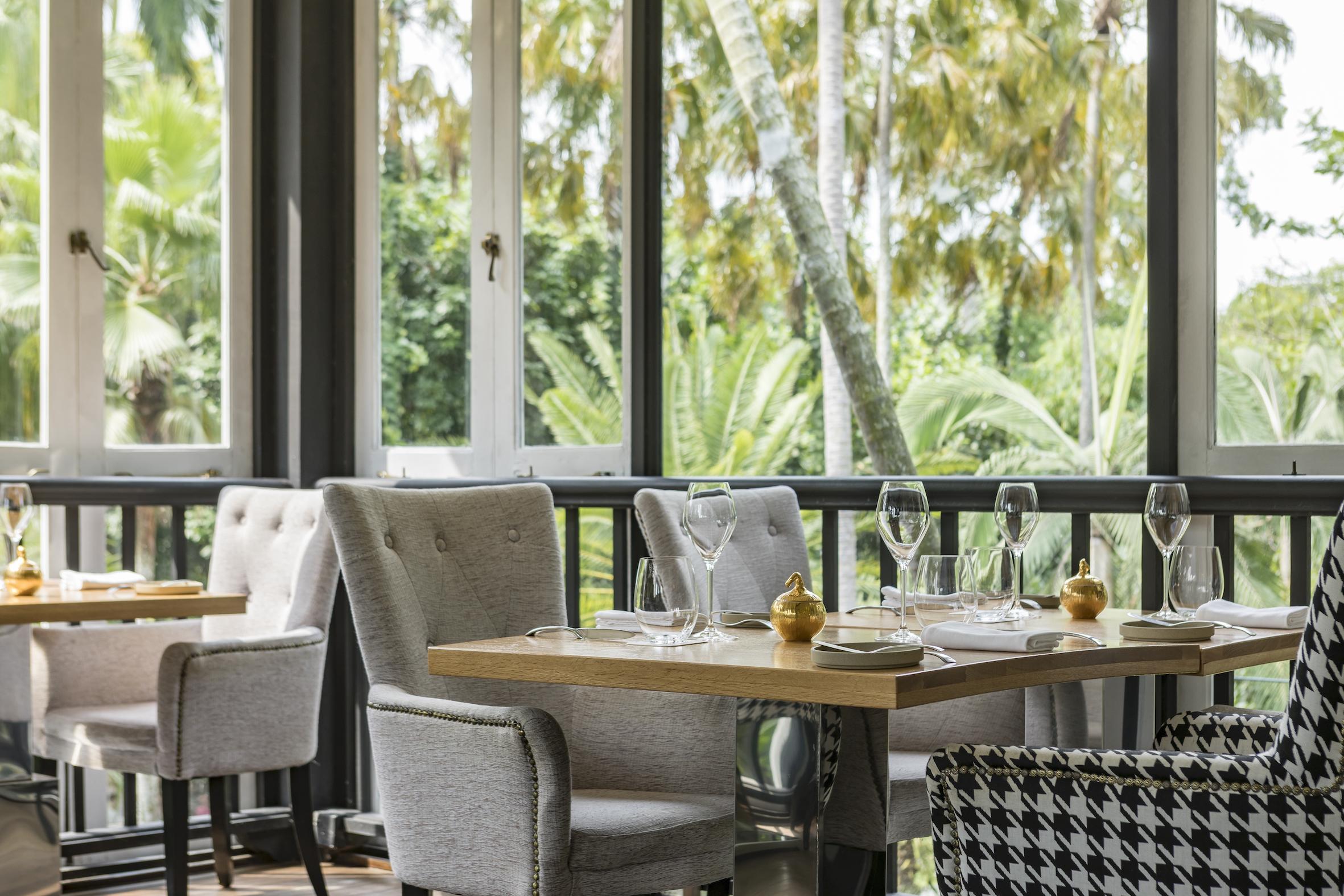 The best garden restaurants in Singapore