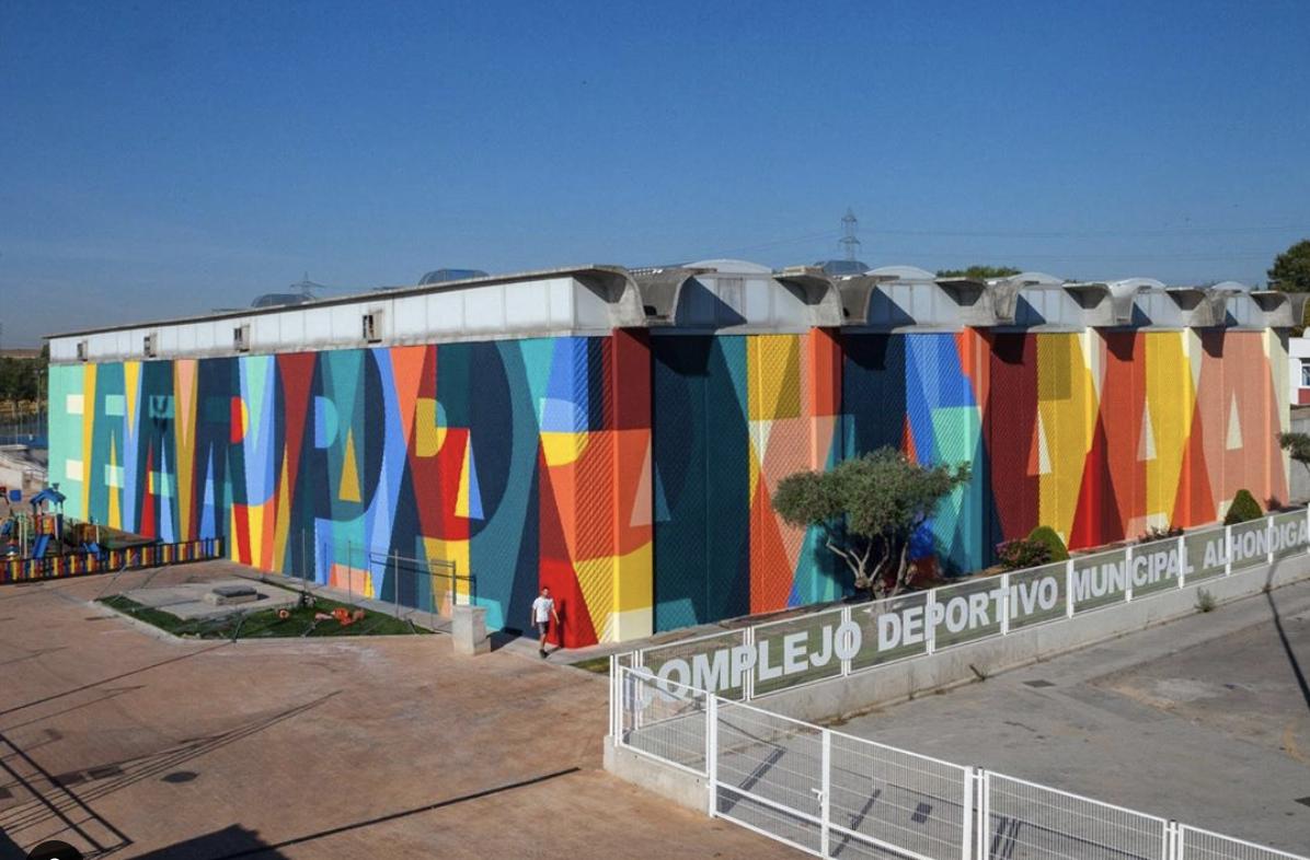 La nueva intervención artística de Boa Mistura en Getafe acumula cientos de críticas