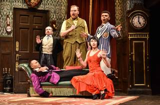 The Play That Goes Wrong, Duchess Theatre, 2020
