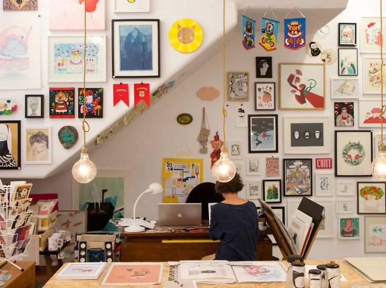 Encha-se de arte nas galerias da Rua Miguel Bombarda