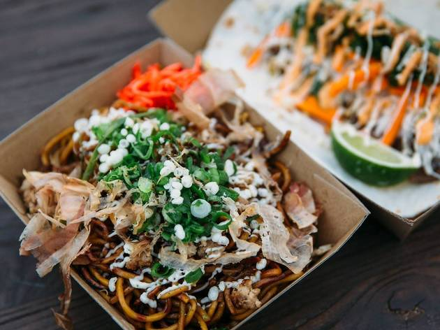 Boxes of noodles