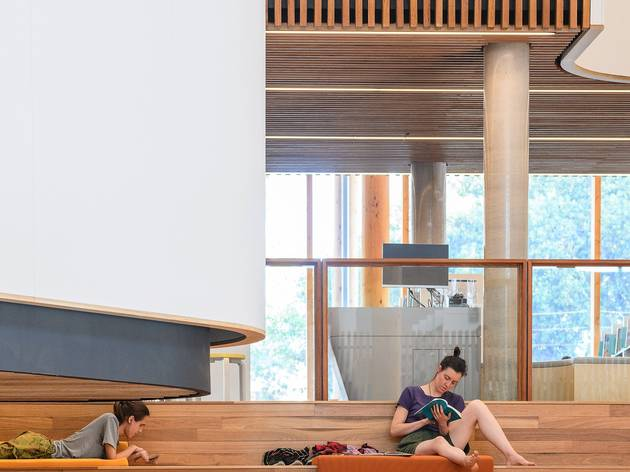 Marrickville Library (Photograph: Supplied)
