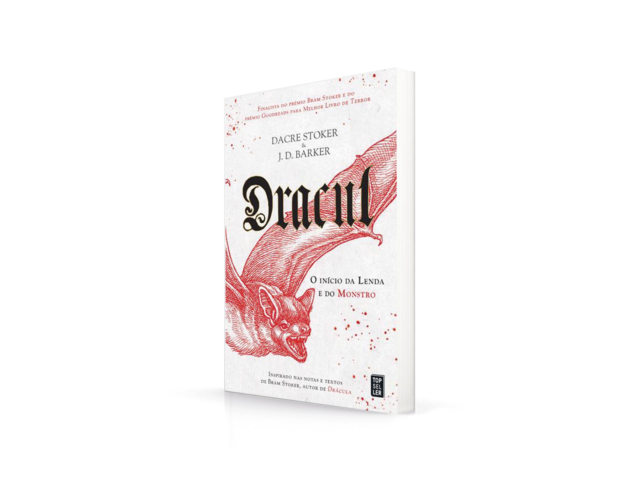Livro, Terror, Dracul, Dacre Stoker J.D. Barker