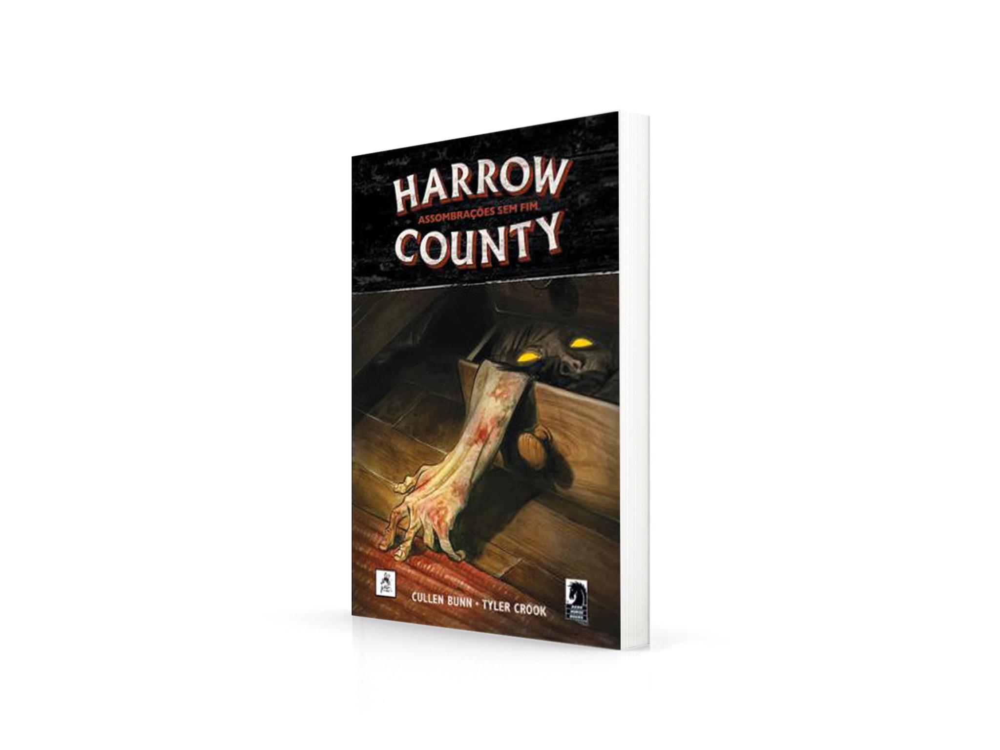 Livro, Terror, Harrow Country - Assombrações Sem Fim, Cullen Bunin, Tyler Crook