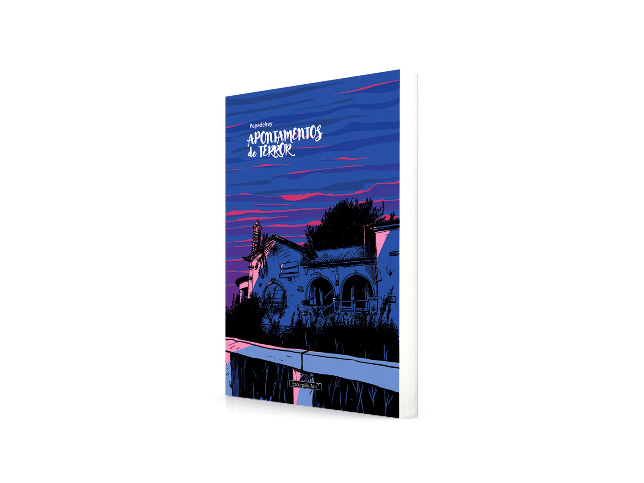 Livro, Terror, Apontamentos de Terror, Pepedelrey