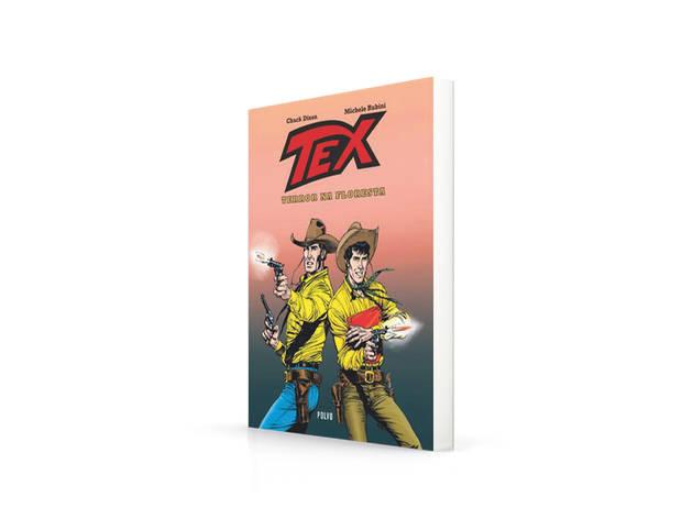 Livros, Terror, Tex - Terror na Floresta, Chuck Dixon, Michele Rubini