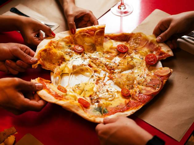 Restaurante, Vícios de Mesa, Pizza Van Gogh