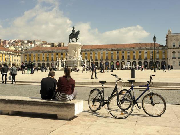 Lisboa tem um banco de empréstimo de bicicletas usadas e todos podem contribuir
