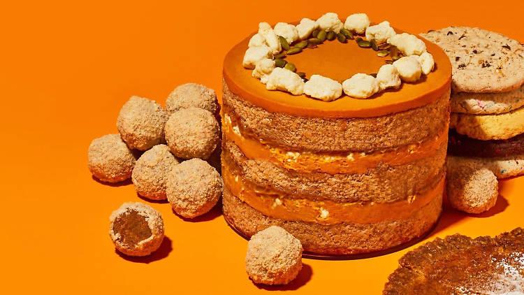 Milk Bar pumpkin spice cake