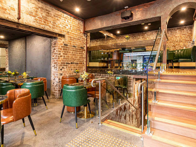 Kings Cross Distillery back bar