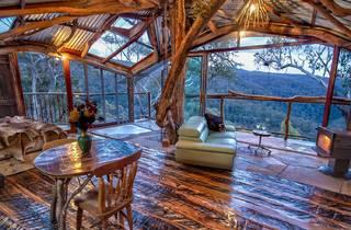 Wollemi Treehouse interior