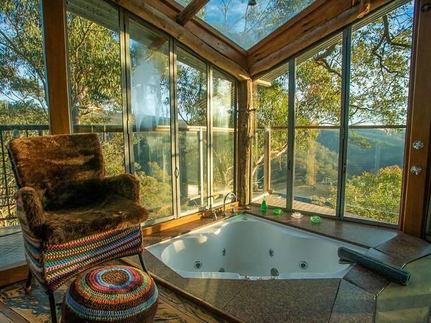 Wollemi Treehouse bathroom