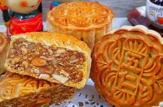 Mooncakes at Amour Desserts