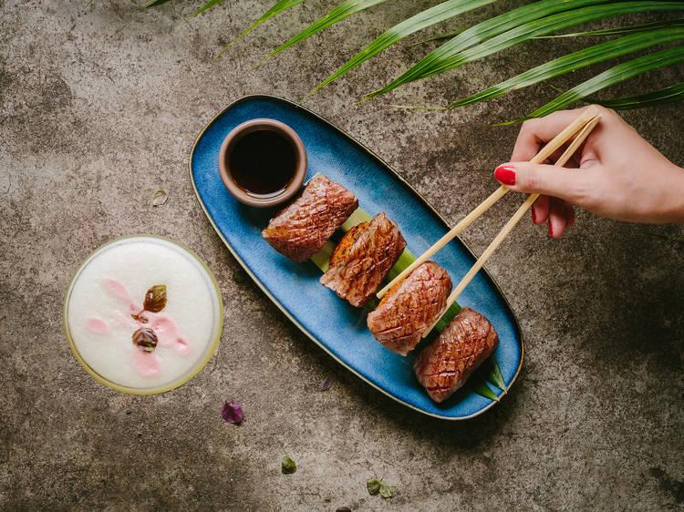 Uma Nota's new Japanese inspired dishes