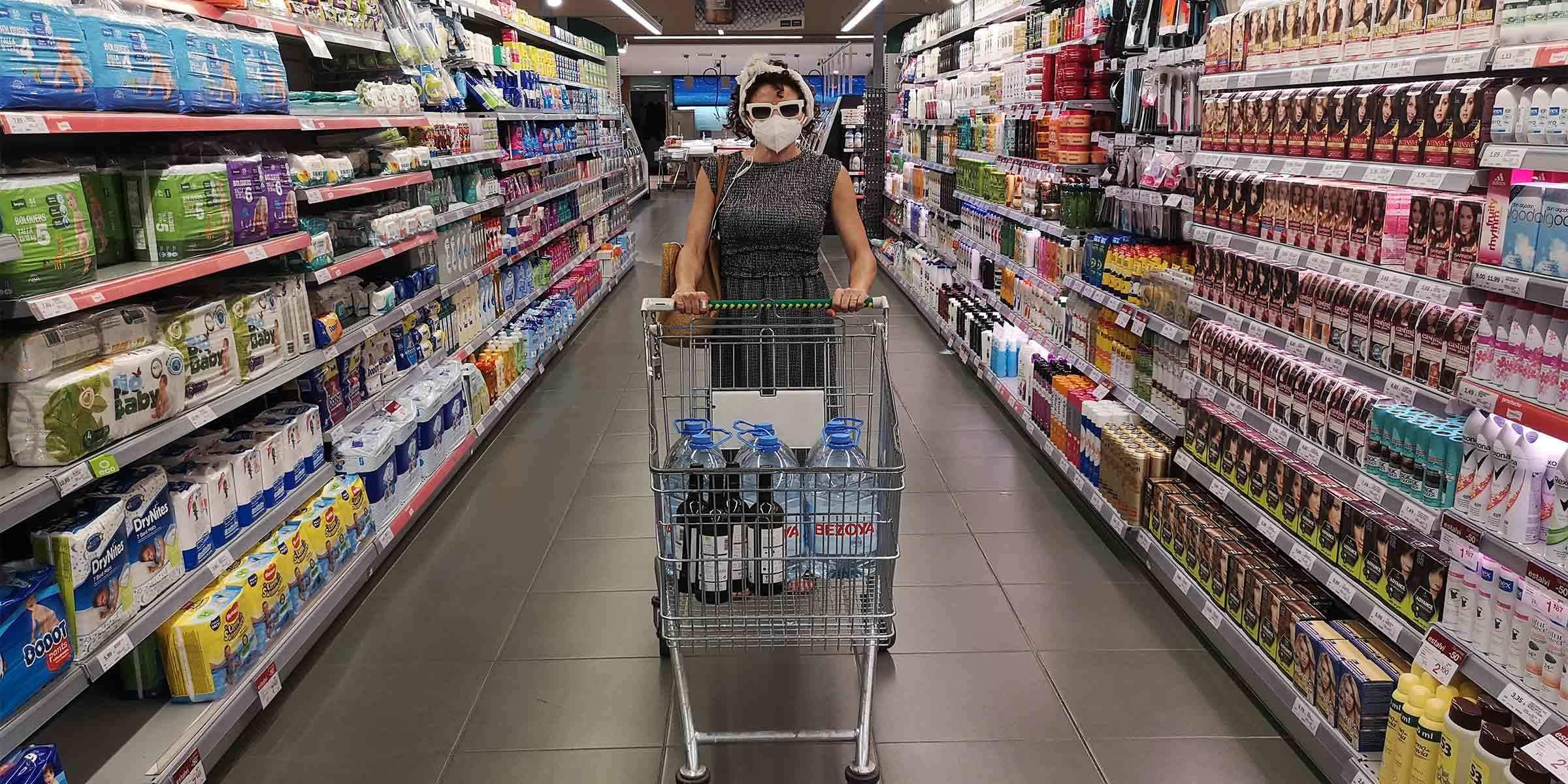 'Audioguia per a supermercats'