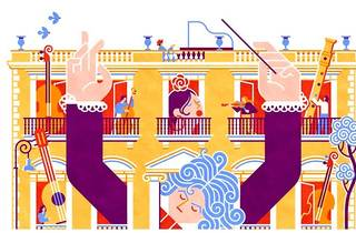 Beethoven revoluciona palacio