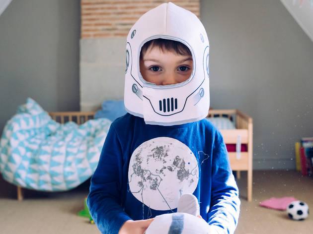 Mini astronautas. Taller para niños