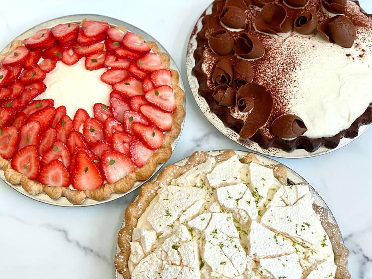 Hawaiian chocolate haupia pie from Dominique Ansel Bakery