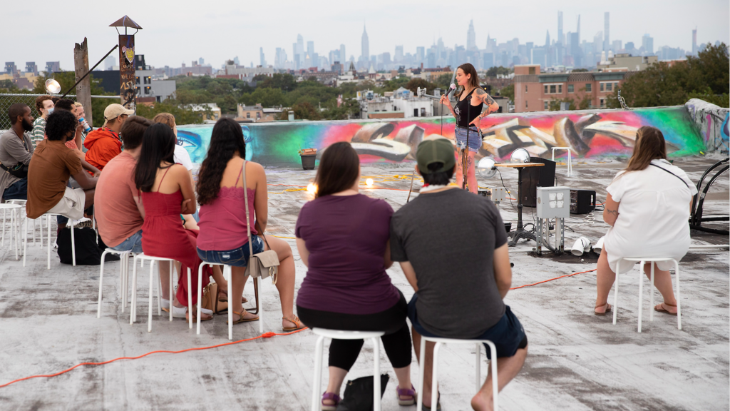 The most amazing outdoor comedy shows in NYC