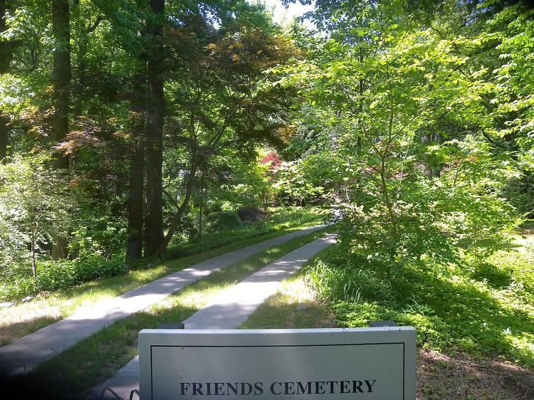Quaker cemetery in Prospect Park