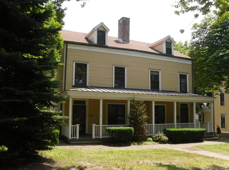 The homes on Governors Island