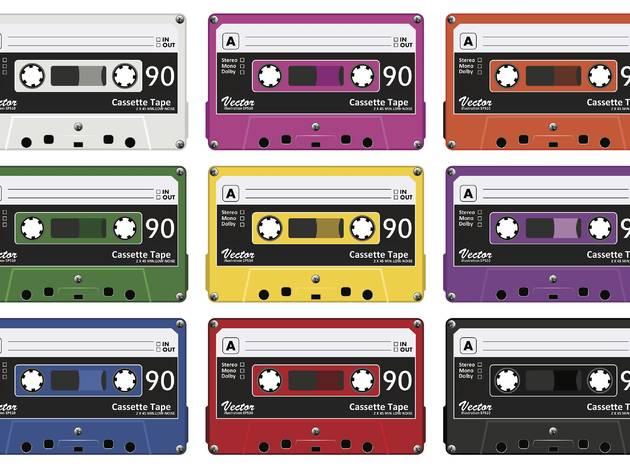 Colección de cassettes