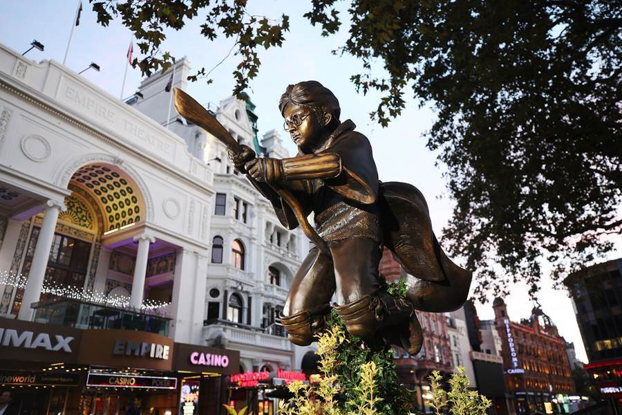 Leicester Square is getting a Harry Potter statue