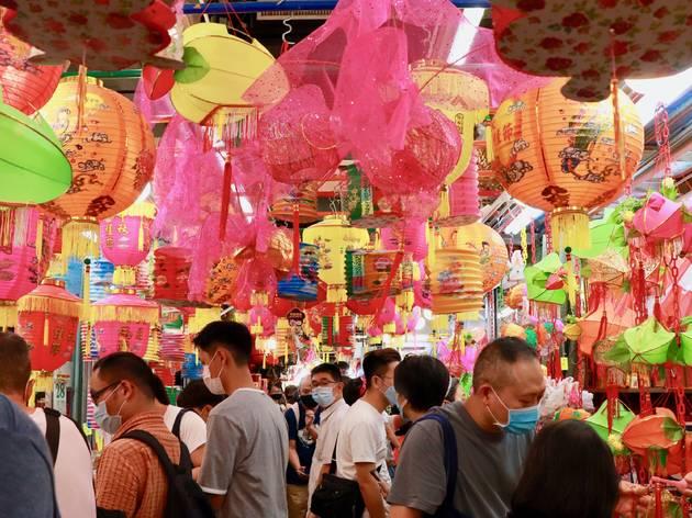 yuen long lantern street 2020