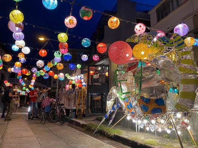 Tai O Fei Mao Li  lantern fest 2020
