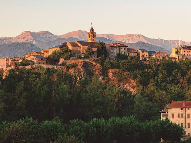 Bellver Cerdanya, ruta per Catalunya, tardor 2020