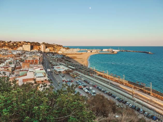 Arenys de Mar, ruta per Catalunya, tardor 2020