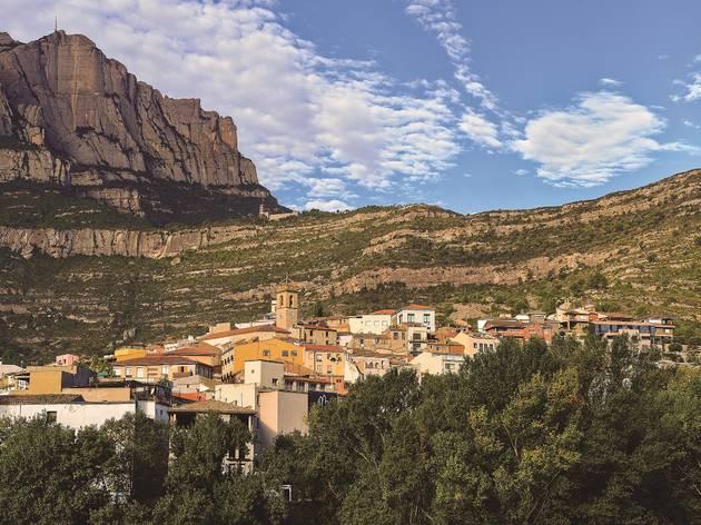 Monistrol de Montserrat, ruta per Catalunya, tardor 2020