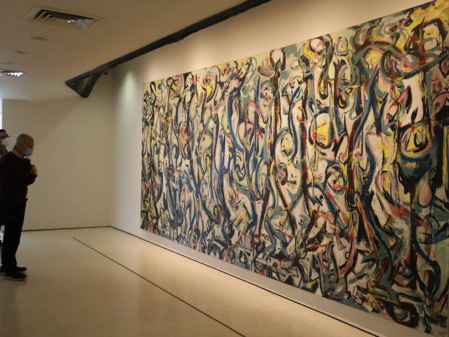 Away from the Easel Jackson Pollock Mural at the Guggenheim