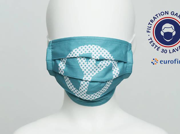 máscaras certificadas para crianças