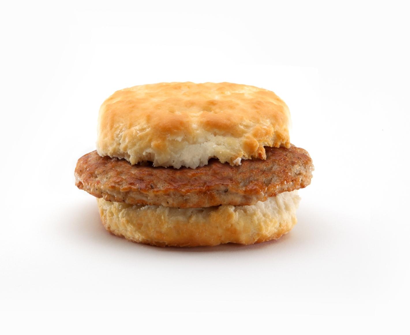 McDonald's sausage biscuit