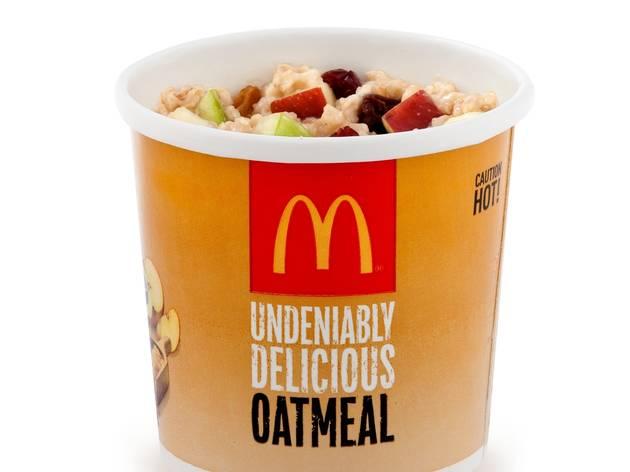 McDonald's fruit and maple granola