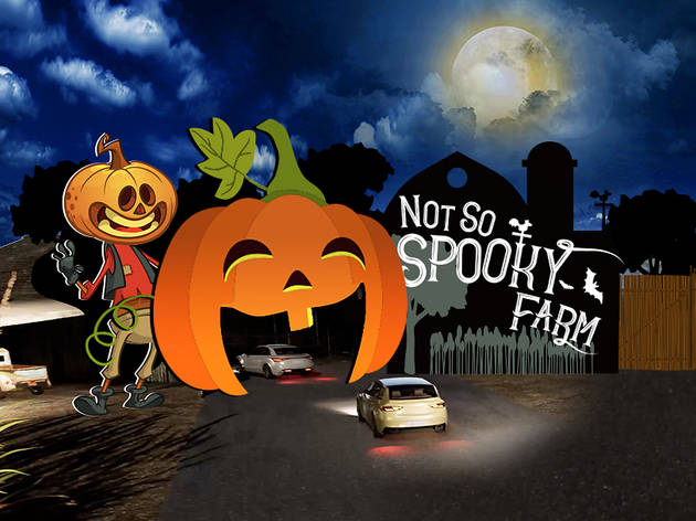 Not So Spooky Farm Halloween Drive-Through