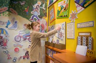 Storyland exhibit